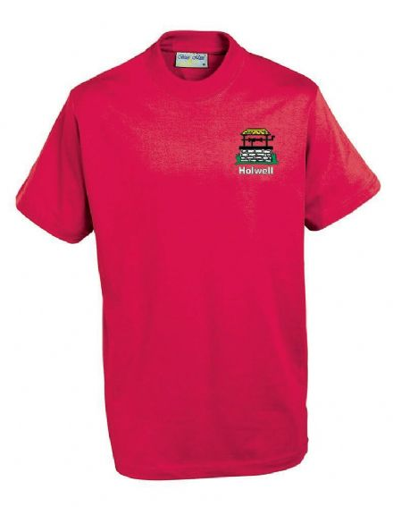 Holwell Red PE T-Shirt
